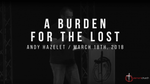 A Burden For The Lost