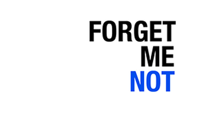 Stand Alone Message: Forget Me Not