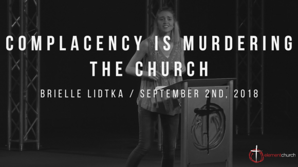 Complacency Is Murdering The Church